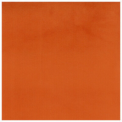Masquerade Tangerine ORANGE Crypton INCASE Velvet Suede LIKE Upholstery Fabric