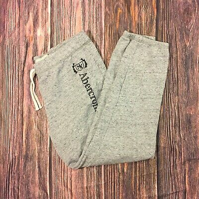 Abercrombie Fitch Large Gray Joggers