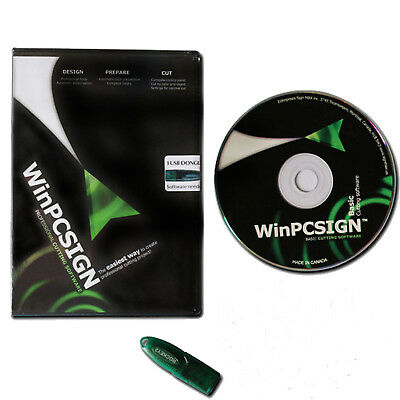 Winpcsign 2012 Basic Software For Cutting Plotter Vinyl Cutter Easy To Operate