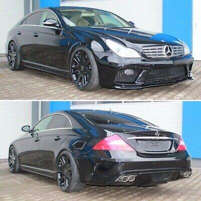 Bodykit für Mercedes CLS W219 AMG Black Series Heck Front Stoßstange Schweller