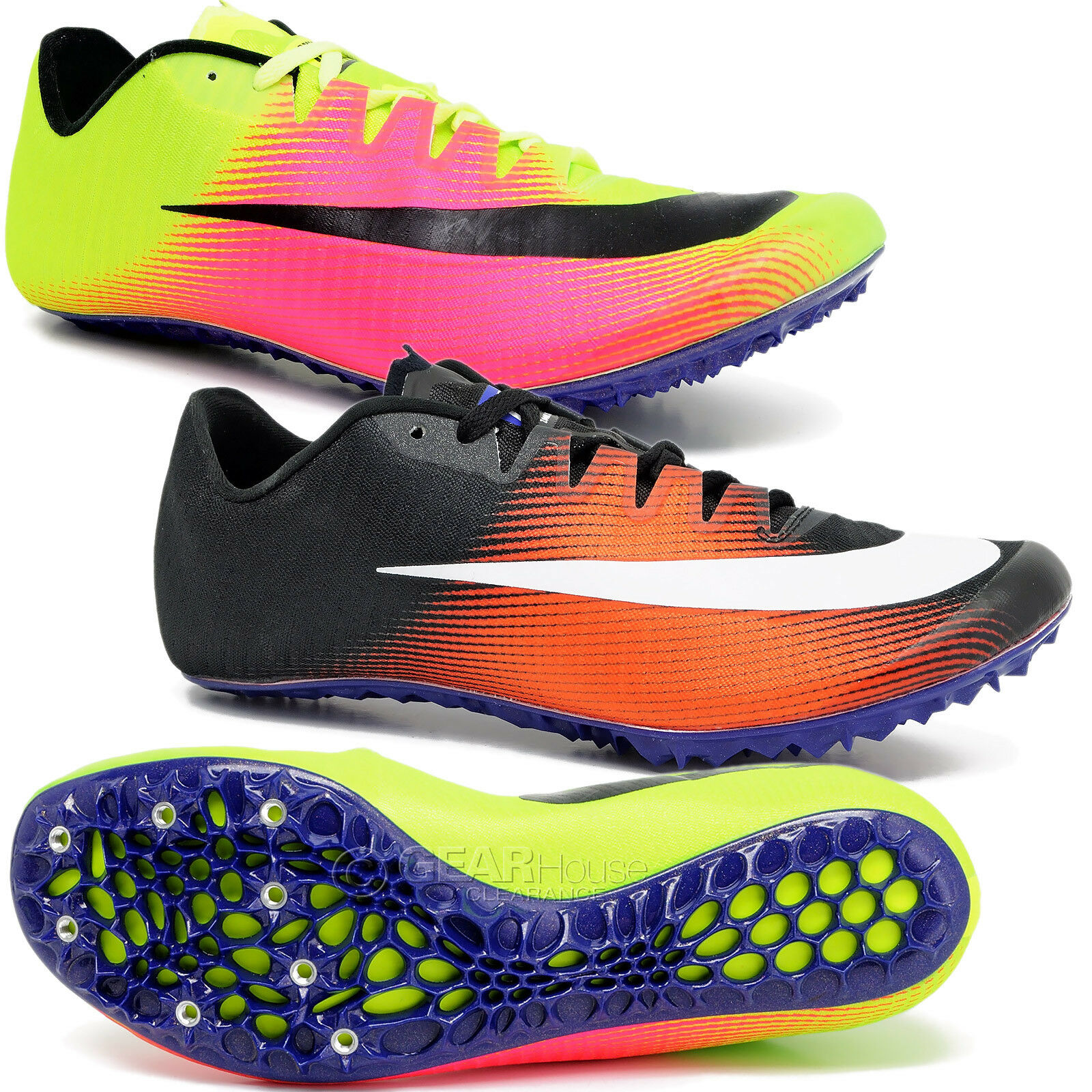 e96741abf5f7 New Nike Zoom JA Fly 3 Mens Track   Field Spikes Sprint Racing Running  Shoes фото