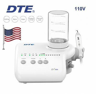 Woodpecker Dte D7 Led Dental Ultrasonic Scaler Automatic Water Acteon 110v Usa