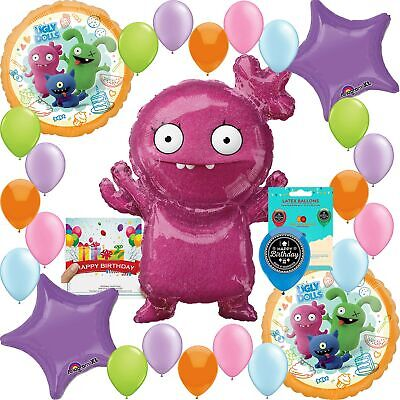 Ugly Dolls Birthday Party Supplies Balloon Decoration Bundle](Ugly Birthday)