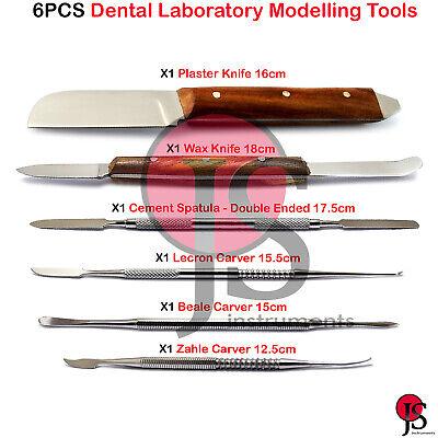 Laboratory Waxing Instruments Wax Knife Fahenstock Carver Spatula Plaster Dental
