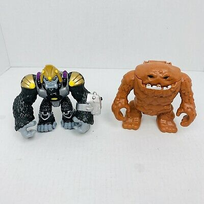 Imaginext Gorilla Grood & Clayface Figures Super Villans
