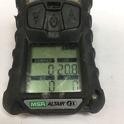 Msa Altair 4X Multi Gas Detector Calibrated