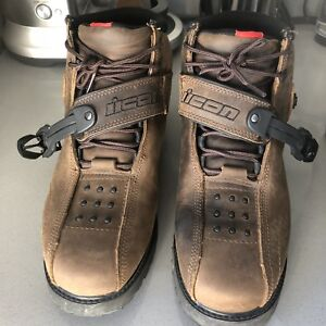 Icon motorcycle boots barely used