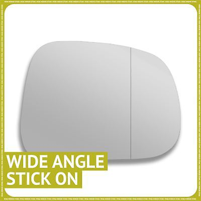 Left side Wide Angle Wing mirror glass for Ssangyong Korando 2010-2017