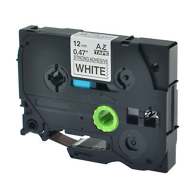 Us Stock 1pk Tzes231 Tz-s231 Black On White Label Tape For Brother P-touch 12mm