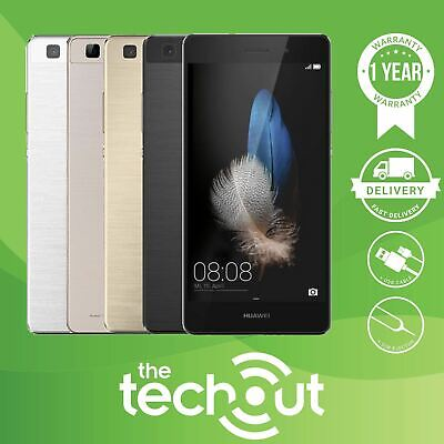 Android Phone - Huawei P8 Lite ALE-L21 16GB Black/White/Gold Unlocked 4G Mobile Phone Smartphone