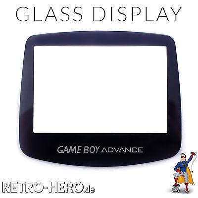 Gameboy Advance Display Scheibe LCD screen GBA Austausch Game Boy Echtes Glas