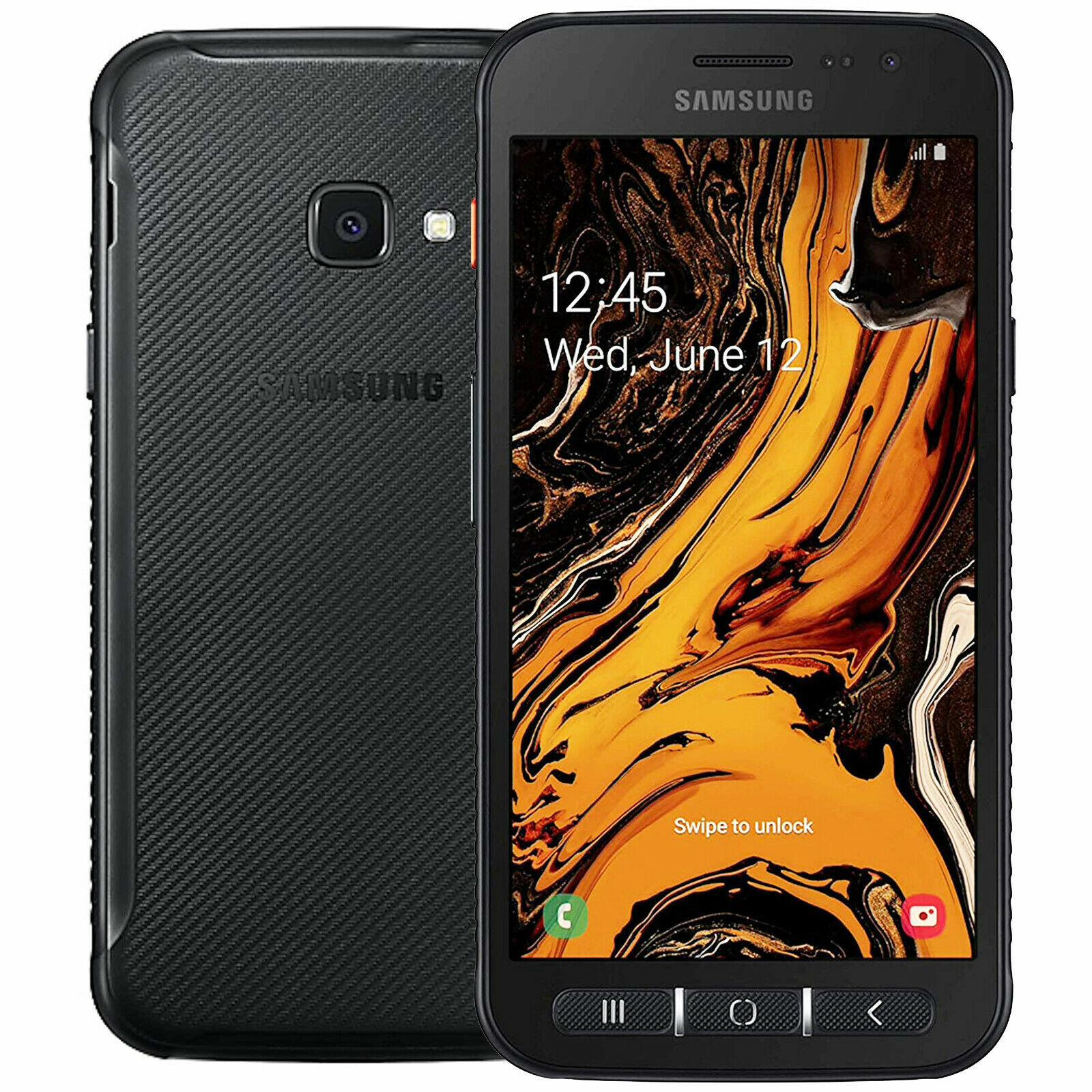 Samsung GALAXY XCover 4s G398F 32GB Dual Sim Android Smartphone Handy Schwarz