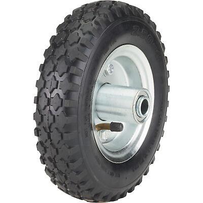 Ironton 8in. Pneumatic Wheel And Tire- 250-lb. Capacity Knobby Tread