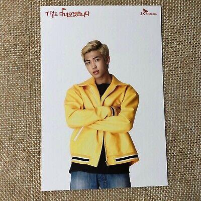 BTS Rap Monster [ SKT Official Postcard Photocard Limited ] / New, Rare / + Gift