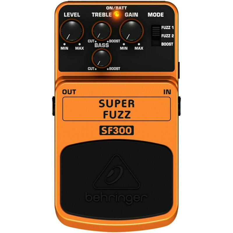 NEW Behringer SF300 Super Fuzz Guitar Pedal Free USA Shipping In Stock