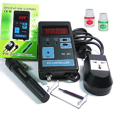 0.00~14.00PH Digital pH CO2 Controller Meter  Aquarium Fish Tank 110V or 220V