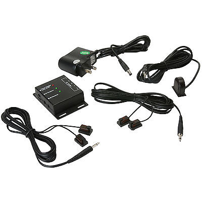 Audtek DBIRX Dual Band Infrared Repeater System Kit