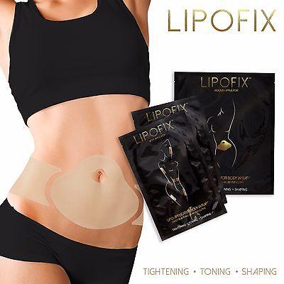 NEW ULTIMATE BODY APPLICATOR LipoFix WRAP it works to Slim Tighten Firm 9 wraps