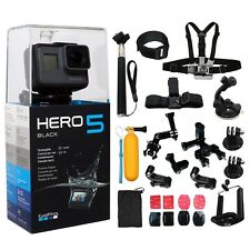 DEAL: GoPro HERO5 Black +ALL You Need Accessories Kit. Hero 5 Action Camera