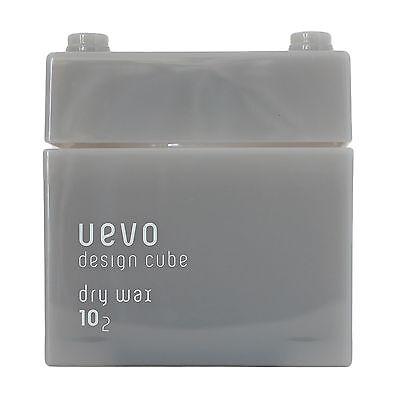 Hair Styling Wax Dry Matte DEMI Uevo Design Cube 80g 2.82oz Professional Salon