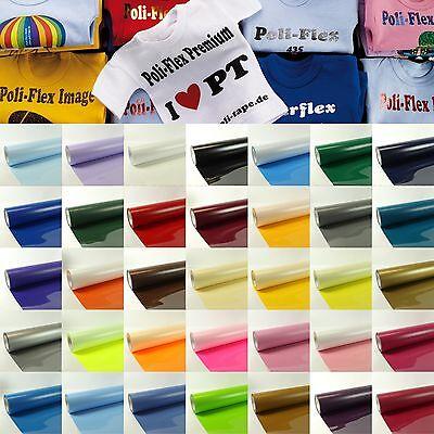 T-shirt Transfers ((33,33€/m²) T-Shirt Folie Transferfolie Textilfolie Bügelfolie Poli Tape DIN A4)