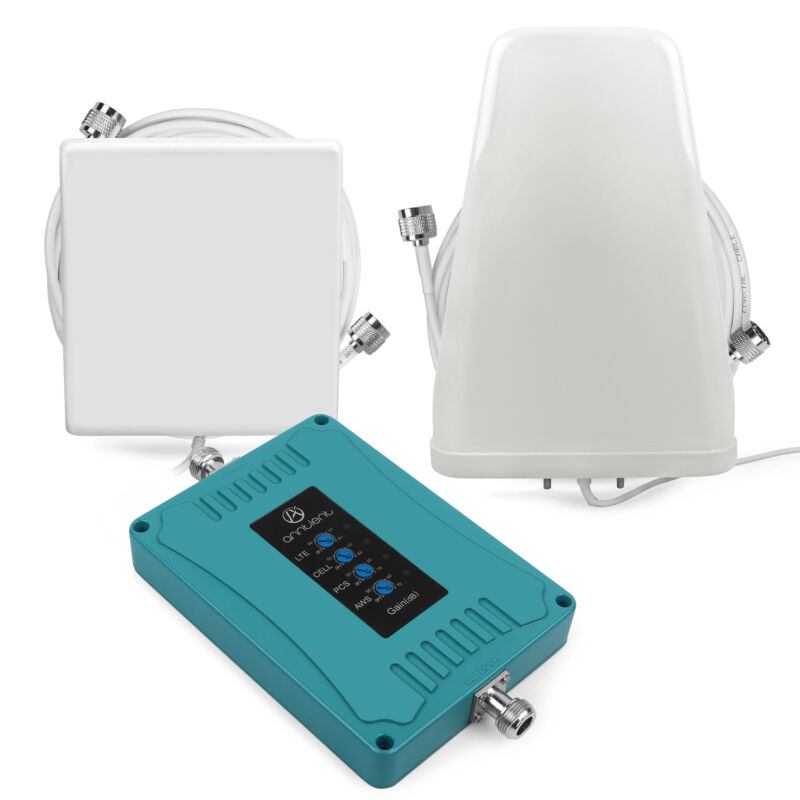 700/850/1700/1900MHz Cell Phone Signal Booster 2G 3G 4G For Band 12/17/13/5/4/2