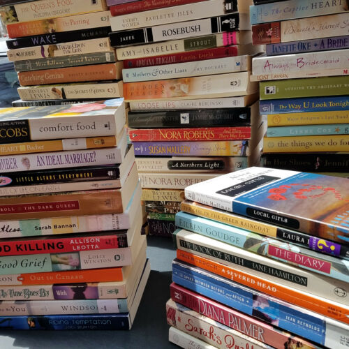 Lot of 20 Large Trade Literature Fiction Paperback BestSeller UNSORTED Mix Books