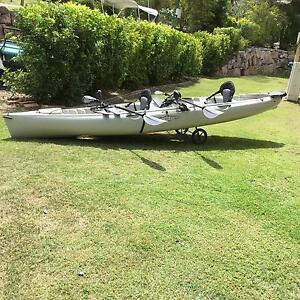 Hobie tandem Oasis Pine Mountain Ipswich City Preview