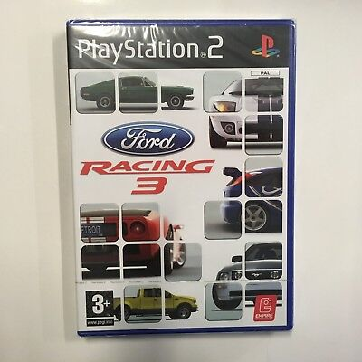 FORD RACING 3 - PS2 Playstation - PAL - NEUF - usato  Spedire a Italy