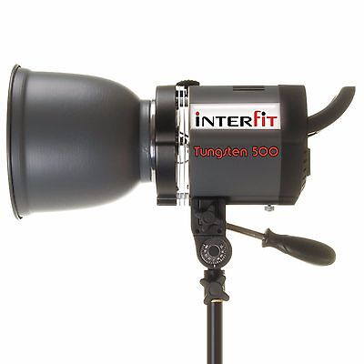 Interfit INT184 Stellar X 500w Tungsten 3200K Lighting Head