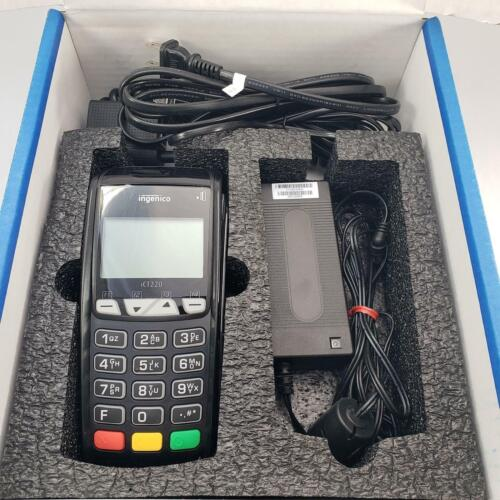Ingenico iCT220 11T2372A Credit Card Terminal Chip Reader, EMV & Chip Payments