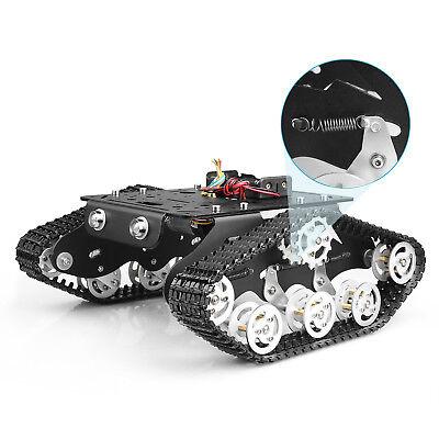 Tracked Robot Smart Car Platform Dual Dc 9v Motor Diy Kit Stem Education