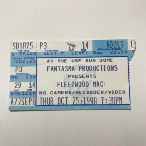 Fleetwood Mac Fantasma Productions Presents Concert Ticket Stub Vintage 1997