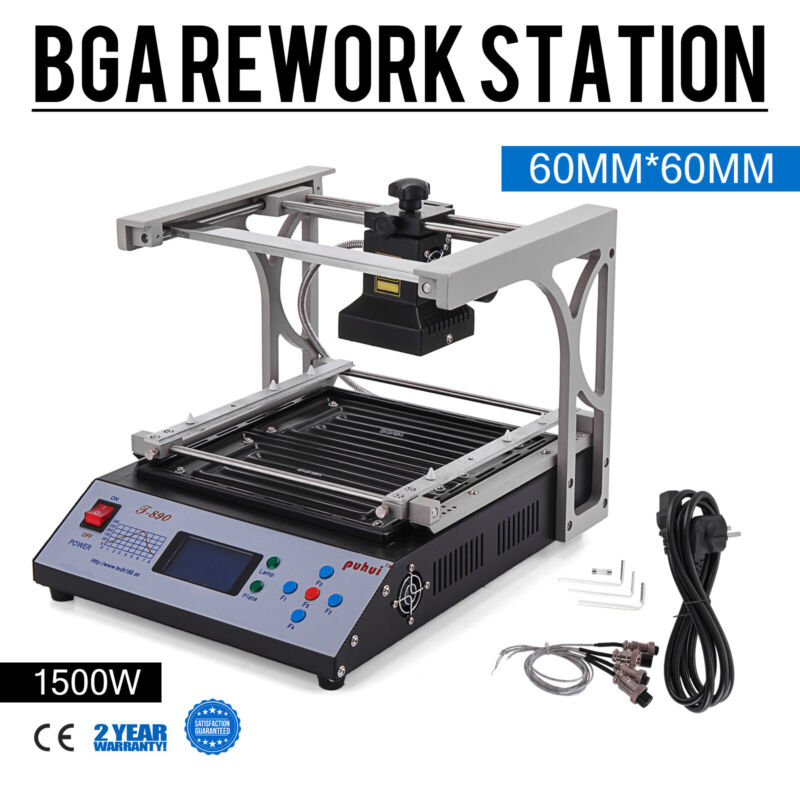 T-890 BGA Rework Preheating Station Infrared Soldering Station Optical Alignment