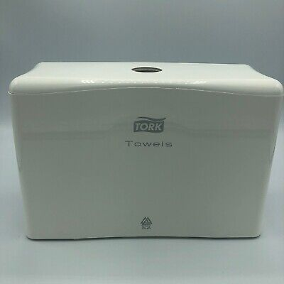 Tork Xpress H2 301084 Inter-fold Table Top Portable Hand Towel Dispenser White