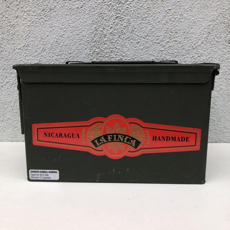 La Finca Ammo Box Tactical Cigar Airtight Humidor