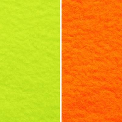 Microfleece Polar Fleece (Polarfleece microfleece - neon colors, 200er, EN471 - by the yard, warm fleece )