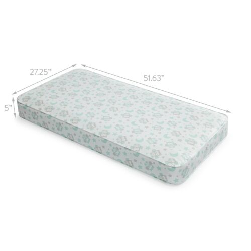 Baby Crib Mattress Firm Toddler Waterproof Bed Infant Comfort Safe Sleep NEW