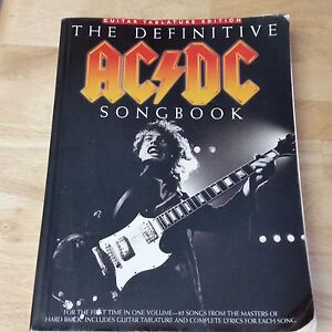ACDC Definitive Guitar Tab Book