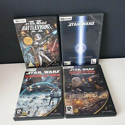 Star Wars PC Game Bundle - Star Wars Battlefront 2, Jedi Knight, Empire at War