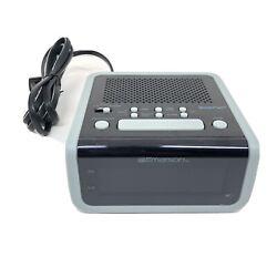 Emerson SmartSet Clock Radio Easy To Read Display Electric 3 Alarm Modes CKS1702