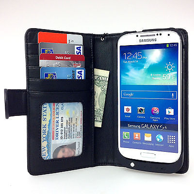 Navor Leather Wallet Battery Case For Samsung Galaxy S3 C...