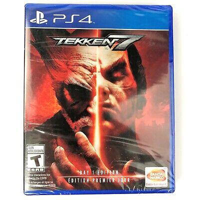 Tekken 7: Day 1 Edition (Sony PlayStation 4, 2017) Brand New Factory Sealed