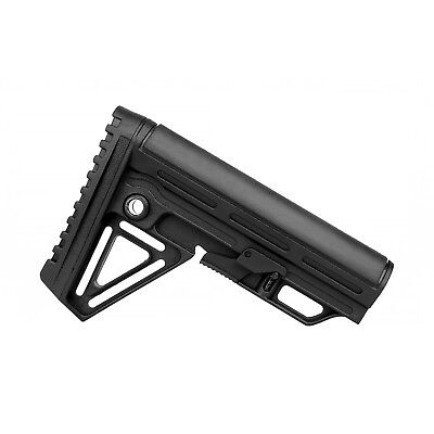 Trinity Force TBA03 Alpha Mil Spec Collapsible Rifle Butt Stock with Pad Black