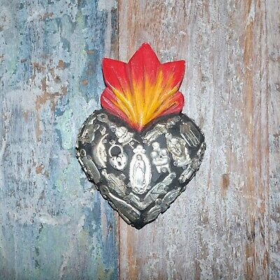 Mexican Milagro Heart Decoration Mini H