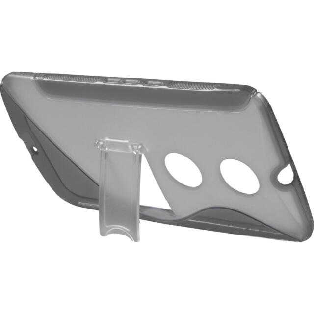 Silicone Case for Google Nexus 6 stand function gray Case