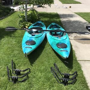 Kayaks (2) - $390 each - Pelican Odyssey 100X, like new
