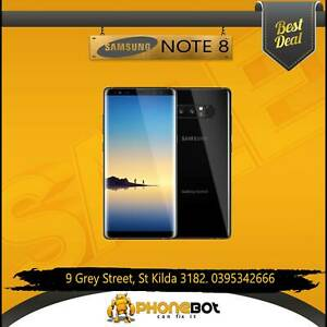 Like New Samsung Galaxy NOTE 8 Unlocked @ Phonebot St Kilda Port Phillip Preview