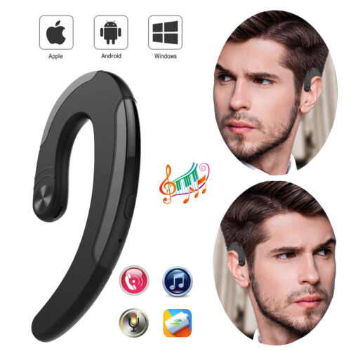 Painless Style Bluetooth Earphone Hang Over Ear Bud Headset