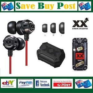 Genuine JVC XX Xtreme Xplosives In-Ear Headphones Earphones HA-FX3X Better Sound